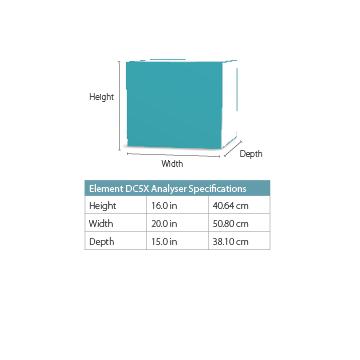 Dimensions Element DCX Analyser